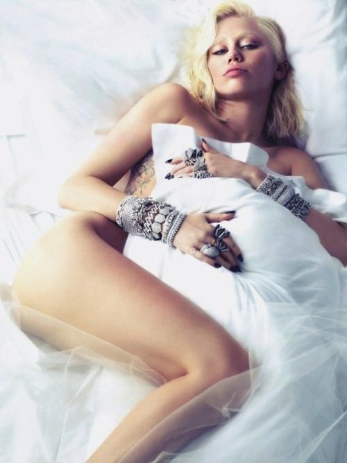 W Magazine - Miley Cyrus by Mert Alas & Marcus Piggott.