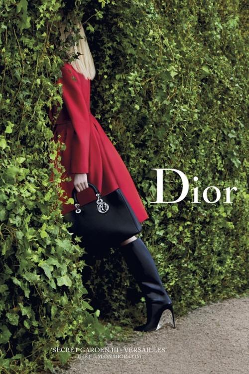 Dior Secret Garden III SS14 by Inez Van Lamsweerde & Vinoodh Matadin.